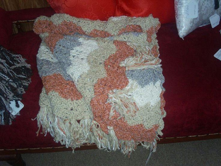 Crochet trow rug
