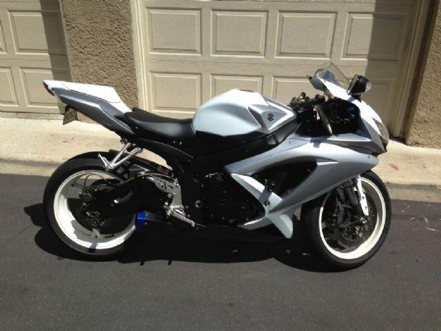 2008 Suzuki GSX-R600 Sportbike , 13,500 miles for sale in Aliso Viejo, CA