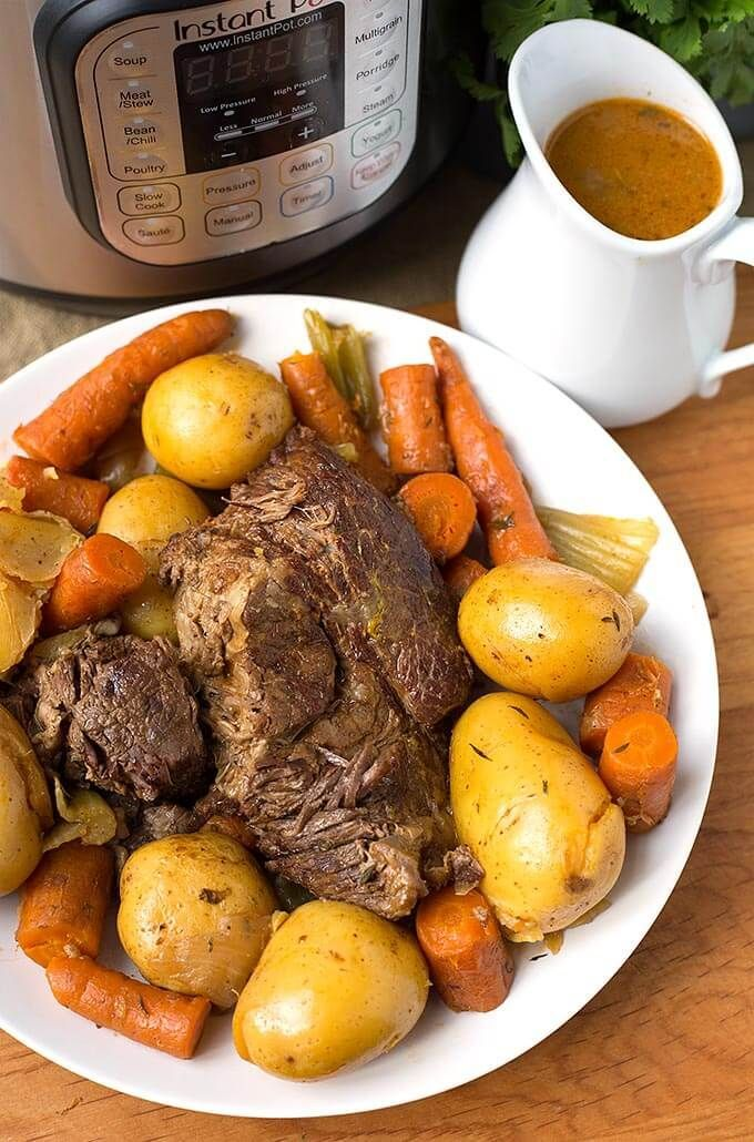 Instant Pot Simple Pot Roast