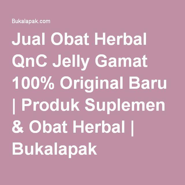 Jual Obat Herbal QnC Jelly Gamat 100% Original Baru   Produk Suplemen & Obat Herbal   Bukalapak