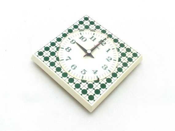 Vintage wall clock from Germany 70s Wall clock by ArtmaVintage