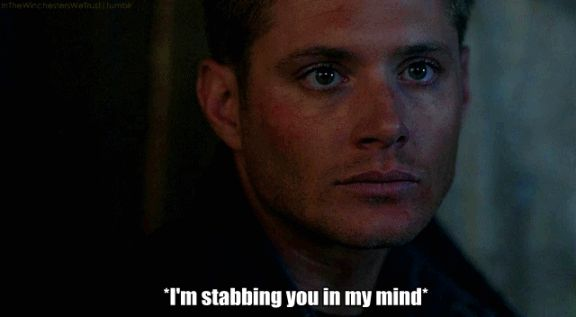 supernatural funny gif | 14 Things I Learned About Supernatural From Tumblr | The Daily Fig