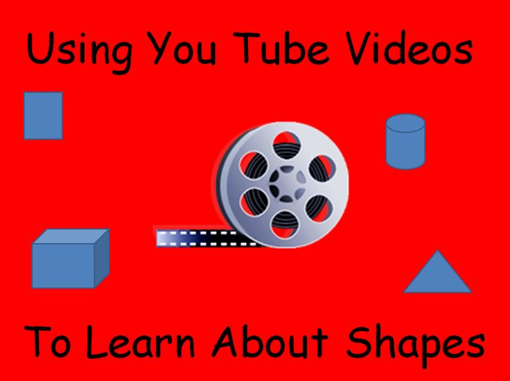 Here are a few good You Tube videos to use with your class when you are learning early geometry concepts!