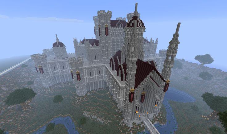 minecraft castles | Ten Epic Minecraft Castles For Inspiration | Minecraft Pixel Art ...