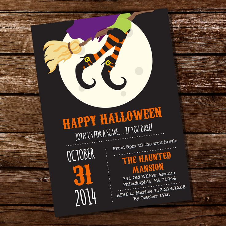 29 best Halloween Costume Party Invitations images on Pinterest ...