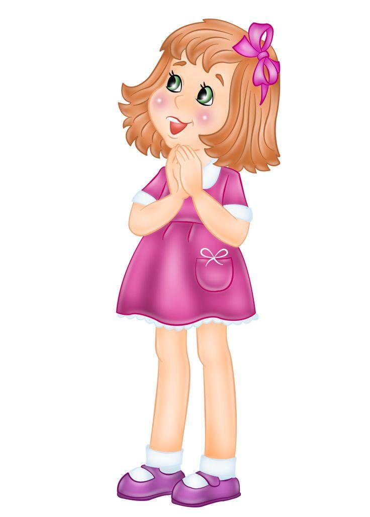Картинка девочки стесняшки