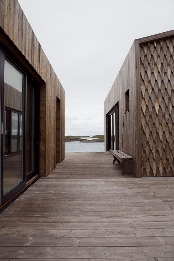 Fordypningsrommet Fleinvær, sustainable architecture, Norway. Photo: Anne Bråtveit