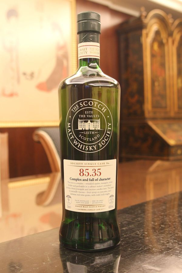 """Review #223: Glen Elgin 9 - SMWS 85.35 - """"Complex and full of character"""" #scotch #whisky #whiskey #malt #singlemalt #Scotland #cigars"""