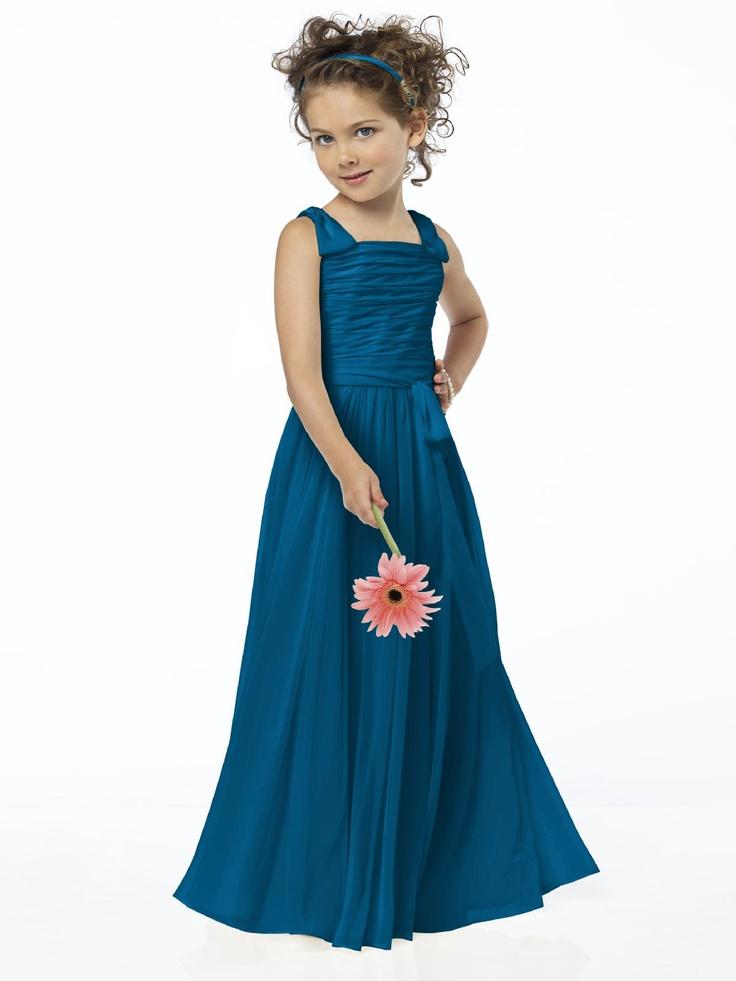 Ocean Blue Flower Girl: Flowers Girls Dresses, Blue Flowers, Style Fl4033, Ocean Blue, Girl Style, Baby Girls, Girls Style, Flower Girls, Bridesmaid Colour