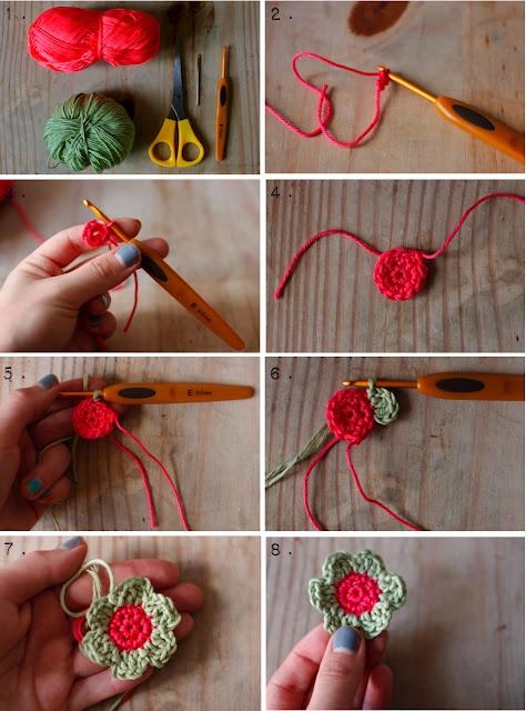 #crochet sweet little flower tutorial
