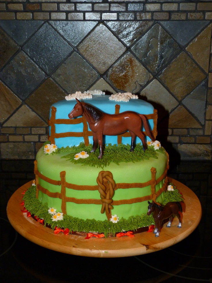 Horse lover cake!