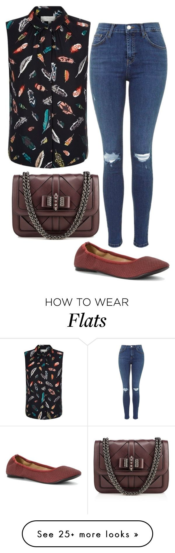 """""""Flying Low"""" by pixleyhunter on Polyvore featuring Hobbs, Wanted and Christian Louboutin"""