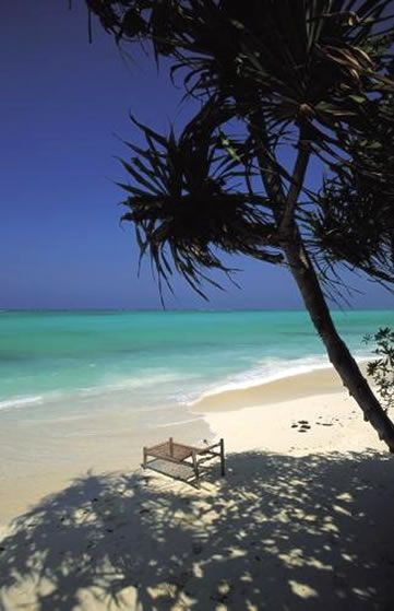 Oh to be lounging on a tropical beach! Ras Nungwi Beach Hotel, Zanzibar