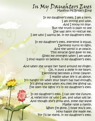 I Love My Daughter   Mom Quotes From Daughter, I Love -4855