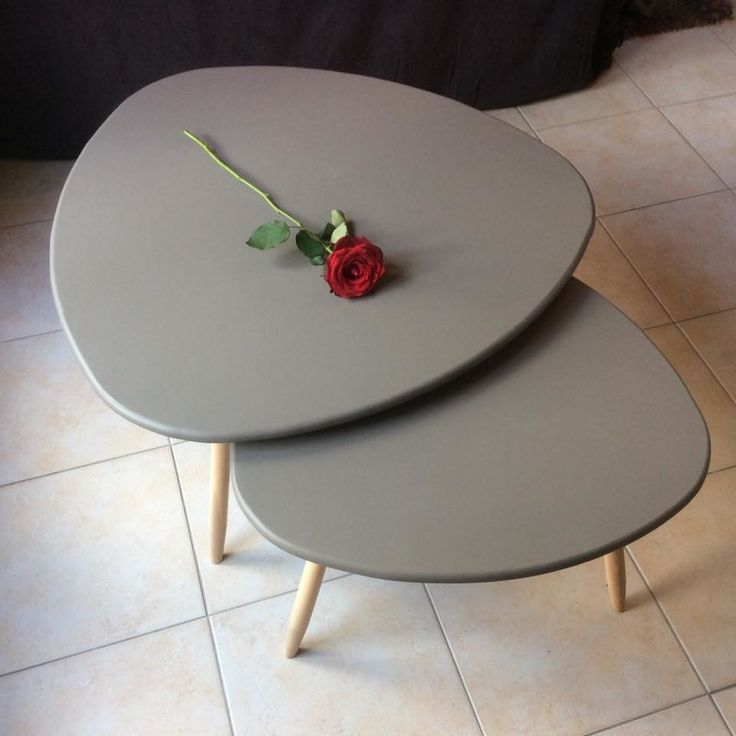 DIY - table basse tripode gigogne