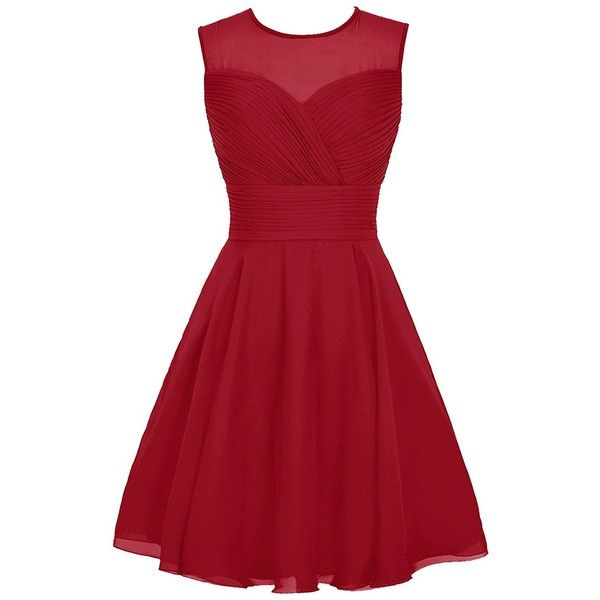 25  best ideas about Red chiffon dresses on Pinterest | Long prom ...