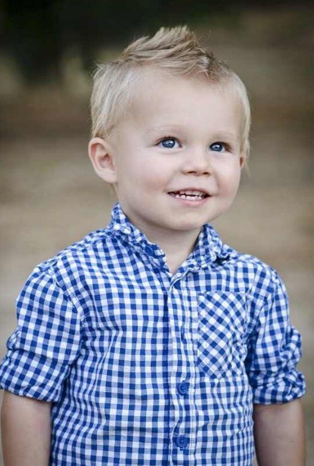 Cute toddler boy haircut - short fo hawk