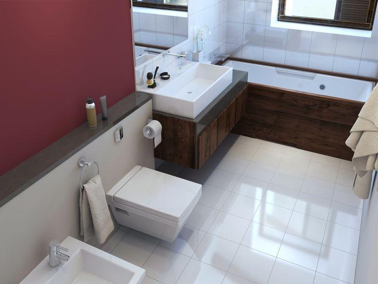 Die besten 25 platzsparende badezimmer ideen auf - Platzsparende badmobel ...
