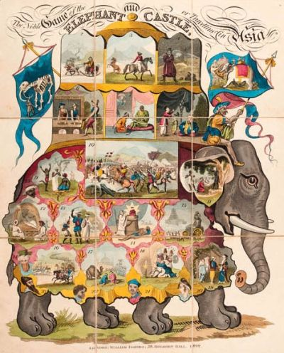 The Noble Game of the Elephant and Castle or Travelling in Asia Combining Amusement and Instruction for Youth of Both Sexes