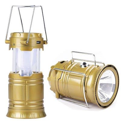 LED Solar Emergency Light Bulb (Lantern) with Torch Rs.265 only