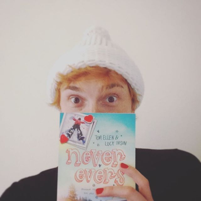 Can't wait to get stuck into this! Thanks for the Pom Pom hat too! #neverevers