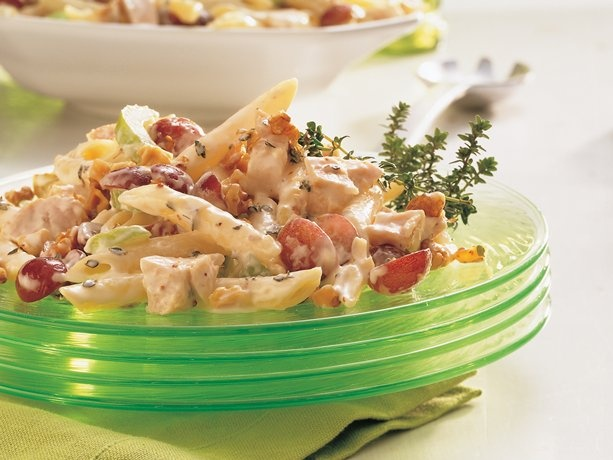 Chicken-Thyme-Penne Salad...LOVE THIS!!