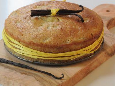 Elo à la bouche: cake à la banane et vanille de Tahiti