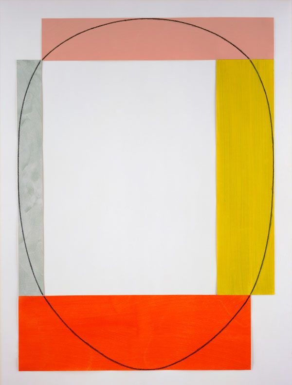 Robert Mangold - Four Color Frame Painting 10 (1985)