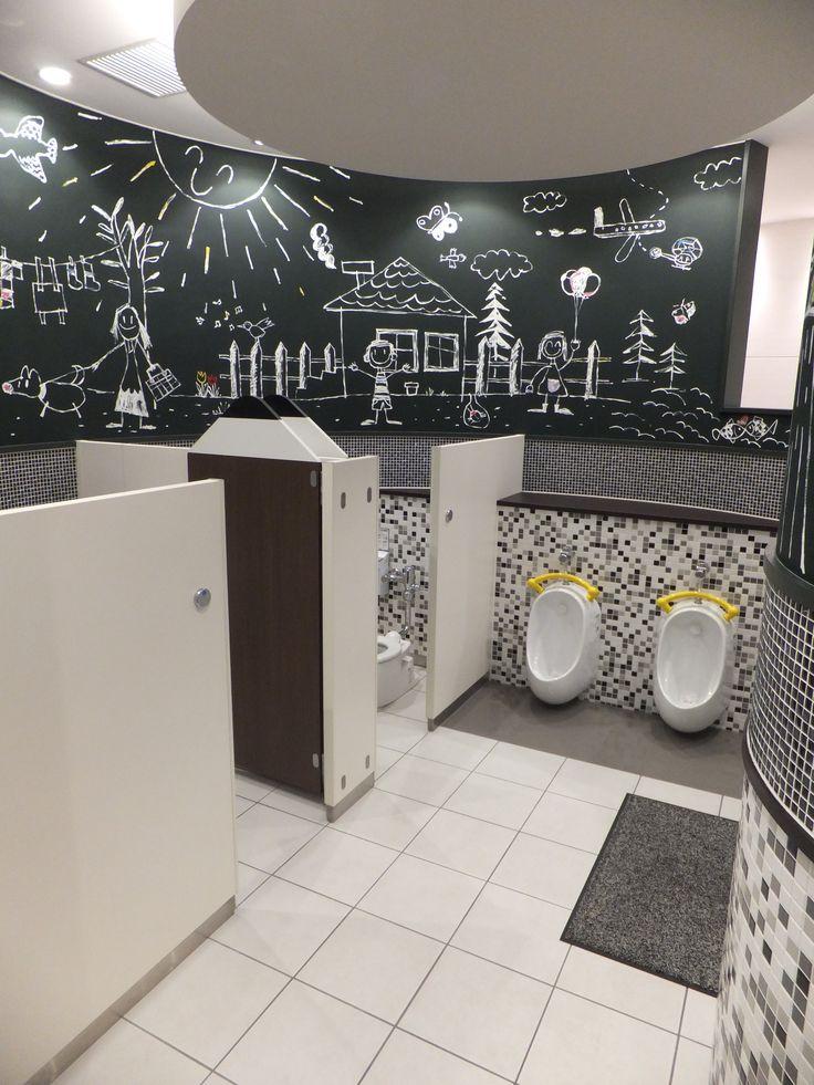 Children School Restroom