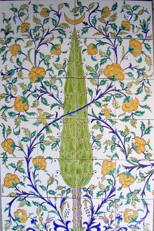 Authentic Mediterranean Tiles, Architectural Salvage, Amphoras, Tile Murals