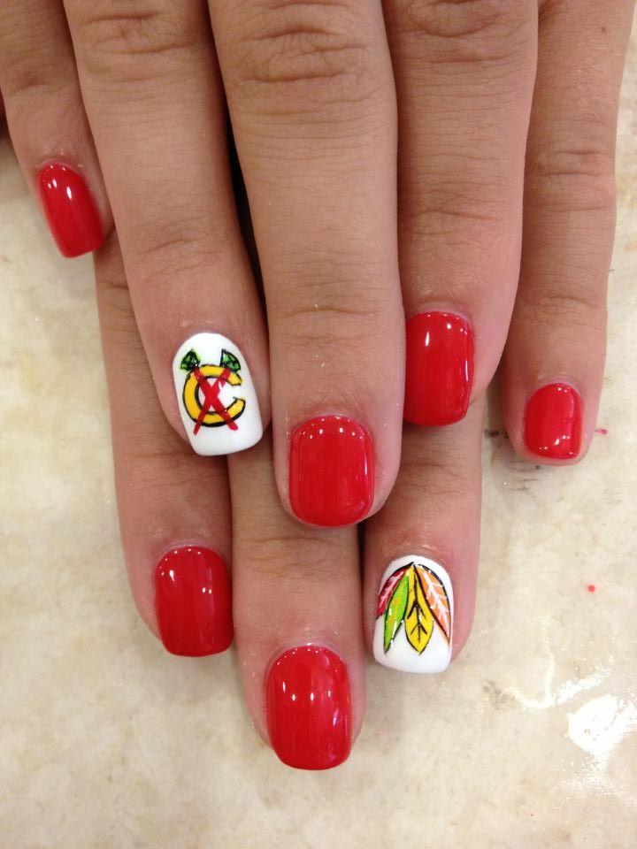 50 best Hockey Nails images on Pinterest | Hockey nails, Sport nails ...
