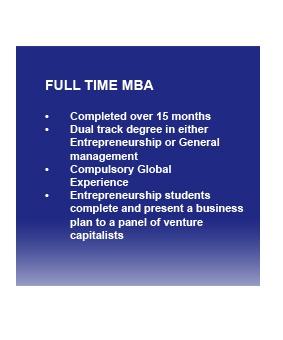 GIBS Full time MBA outline