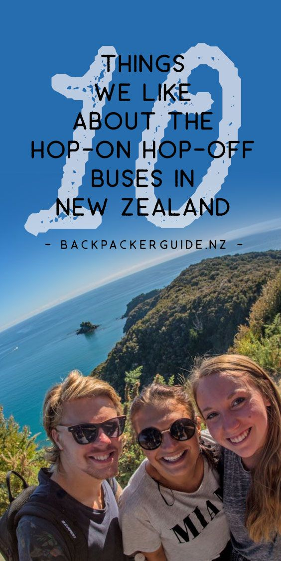 "Why take a hop-on hop-off bus to travel New Zealand?  ""It's about the journey, man, it's about the journey,"" said the very wise Abraham Lincoln*, which is very true when it comes to travelling New Zealand on a hop-on hop-off bus. Travelling with Stray, Kiwi Experience, or Flying Kiwi, the hop-on hop-off bus companies in New Zealand, is more than just getting from A to B. It's a social experience and the opportunity to pull over and explore the hidden gems along the road."