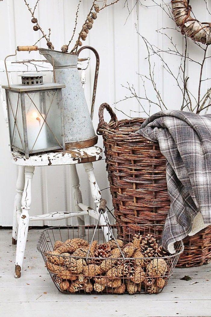 Wire Basket Decor