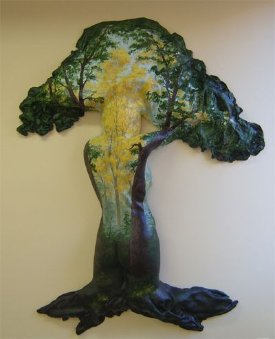 Tree Forest #3D #Casting #Art