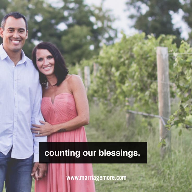 A husband & wife sharing real life.  JOIN THE LOVE HABITS CHALLENGE Start making your marriage MORE!