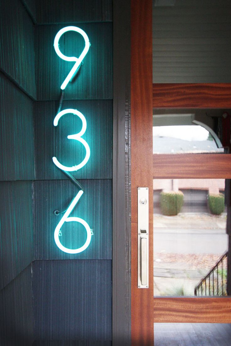 1000+ images about House numbers on Pinterest - ^