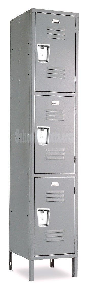 Penco Triple Tier Metal Locker - awesome website with a number of different locker styles --- great for the future laundry room