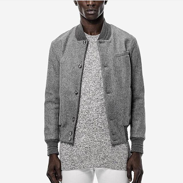 The second drop for F/W 15 by John Elliott + co. Available soon on Attire! #johnelliott #streetwear #streetstyle #varsity #bomber #jacket