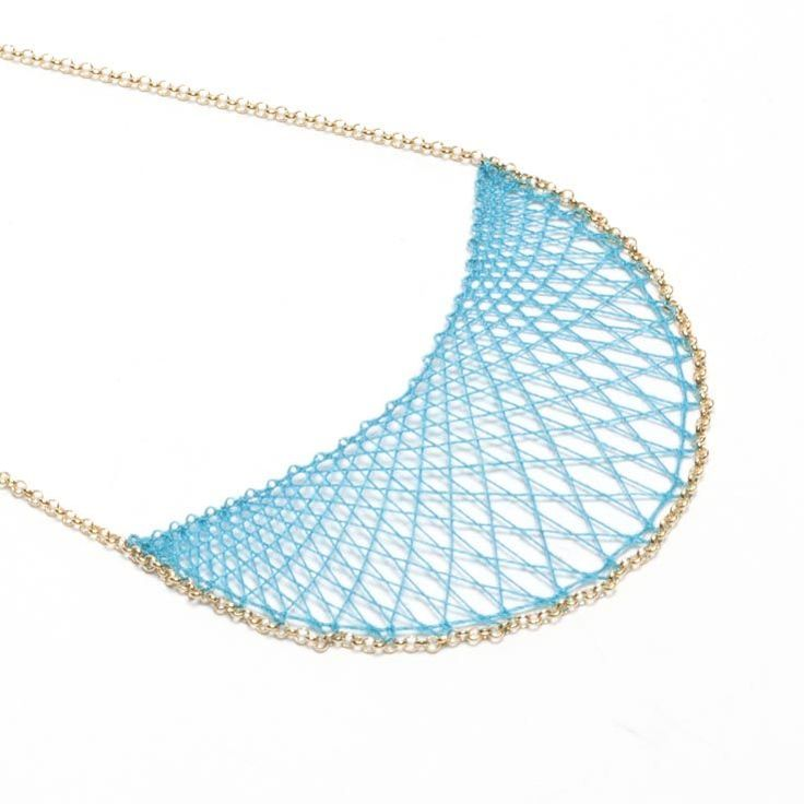 Klara - gold or rose gold via Inlace Jewelry. Click on the image to see more!