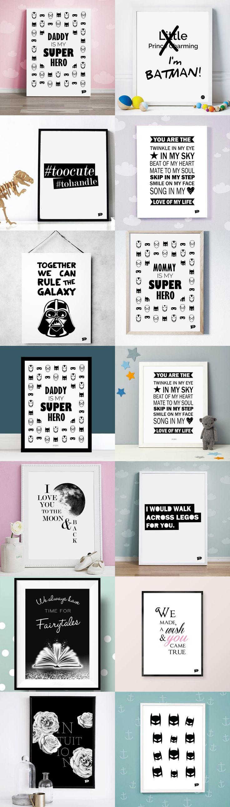 Great selection of superhero prints / posters and MUCH MORE for nursery and kids room from Epic Design Shop. We offer FREE worldwide shipping and fast delivery!  Cool and funny wall decor for children!  Shop: http://epicdesignshop.com