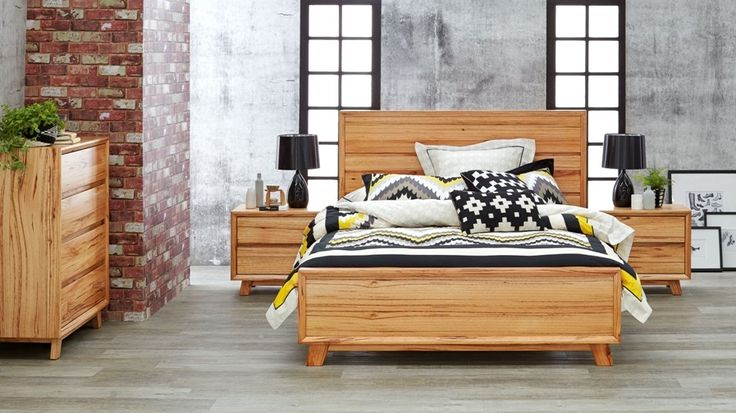Bendigo Queen Bed. Also available in King. The timber is stunning.
