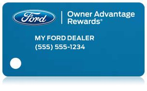 Owner Advantage Rewards   Services   Official Ford Owner Site