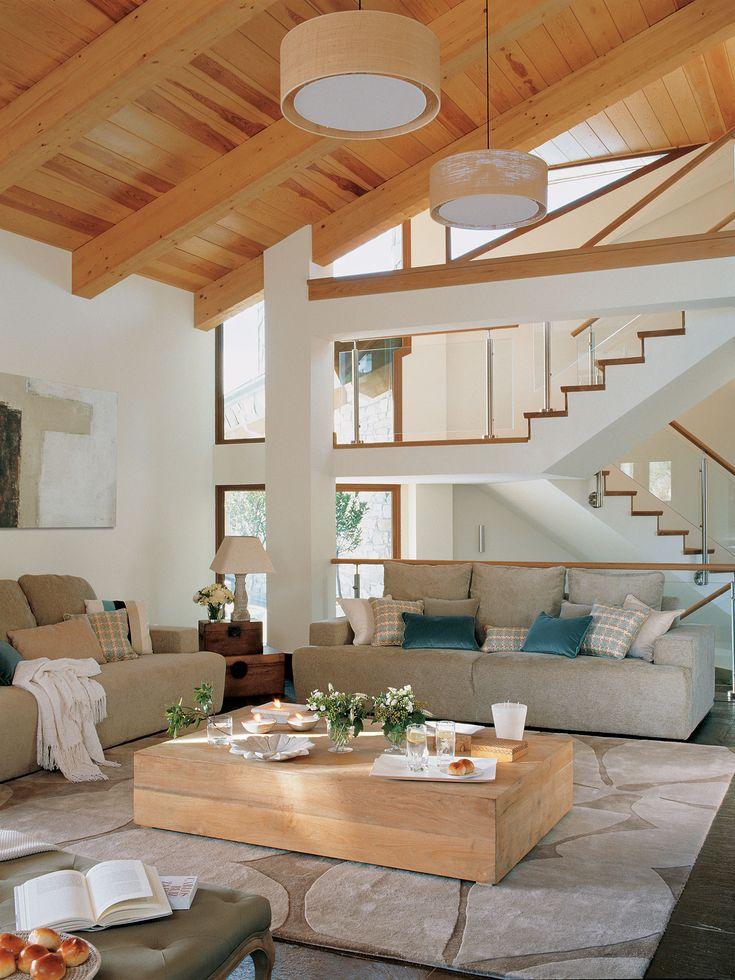 M s de 1000 ideas sobre decoraci n de techos altos en - Decorar salon en l ...