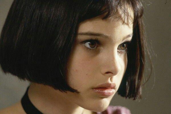 Matilda from Leon. Screenshots of young Natalie Portman