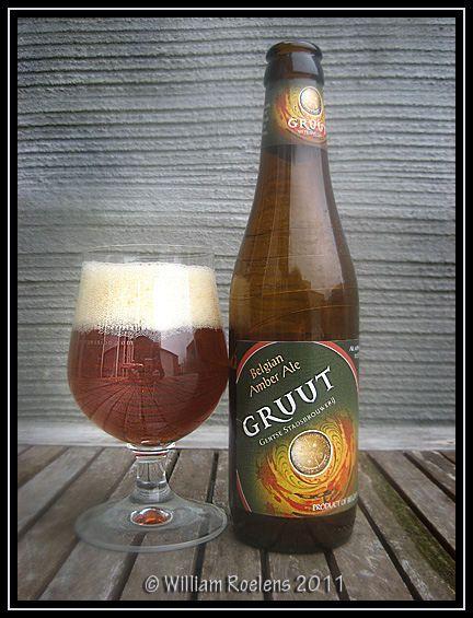 Gruut, belgian amber beer, brewed in Ghent. (photo by William Roelens)