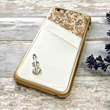 Violin iPhone 6 wallet case..