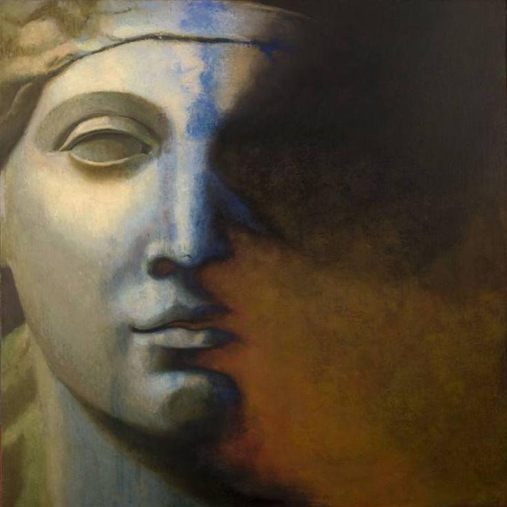 "Saatchi Art Artist Juan Manuel Álvarez Cebrián; Painting, ""Rostro_nº-2"" #art"