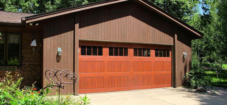 Wayne Dalton 9800 Sonoma Fiberglass Residential Garage