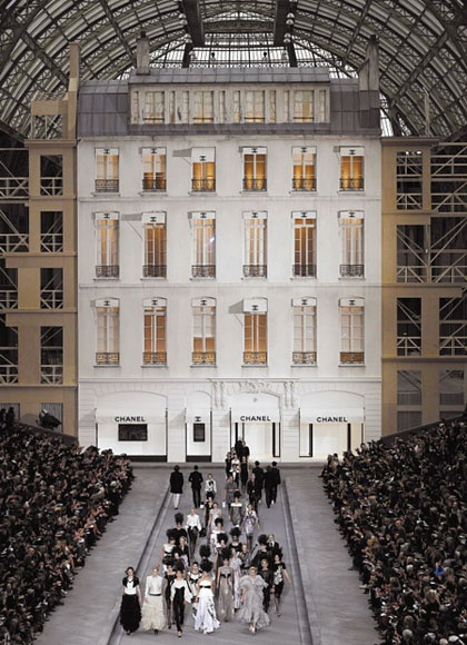A Chanel show is always magical